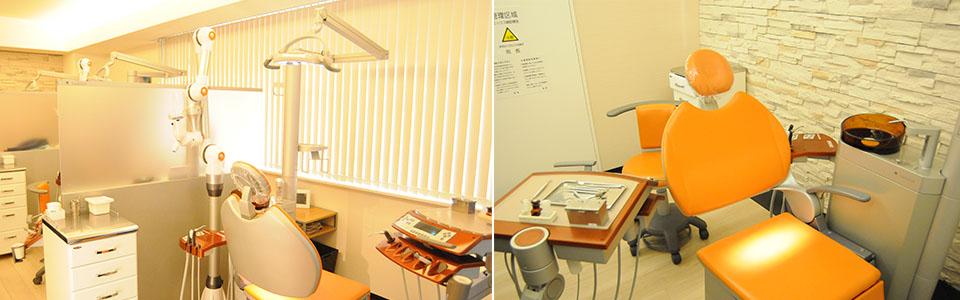 院内の歯科治療スペース