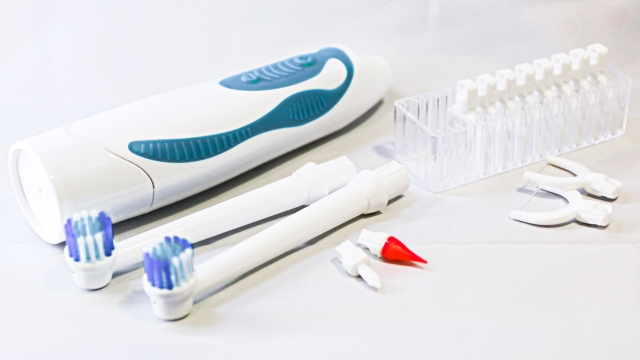 高機能な電動歯ブラシ